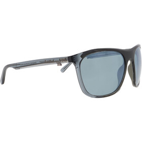 Red Bull SPECT Rocket Sunglasses Men, shiny x'tal grey-green/green-silver flash